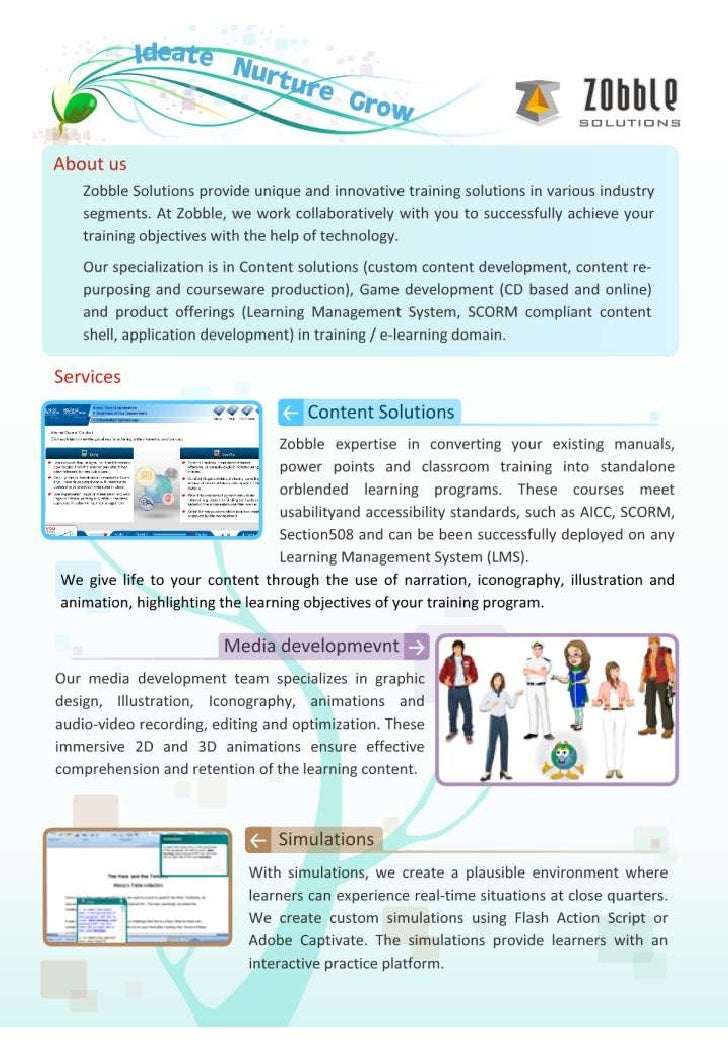 Zobble elearning solutions_services_lms