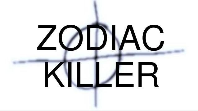 Zodiac Killer Presentation