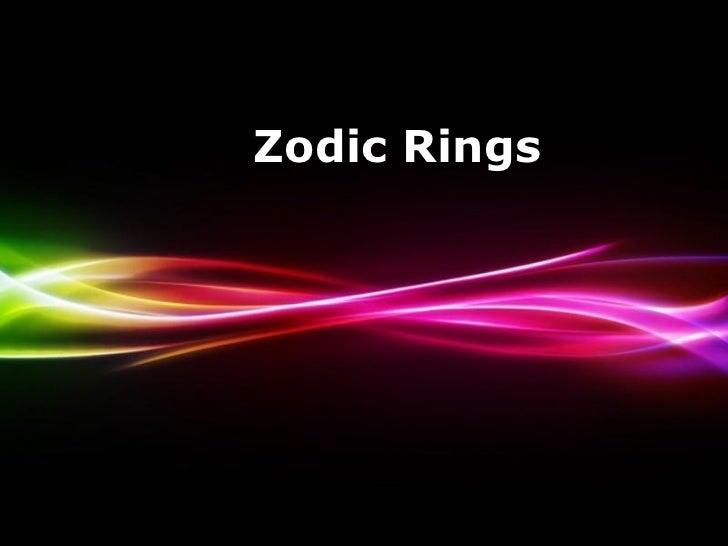 Zodic rings