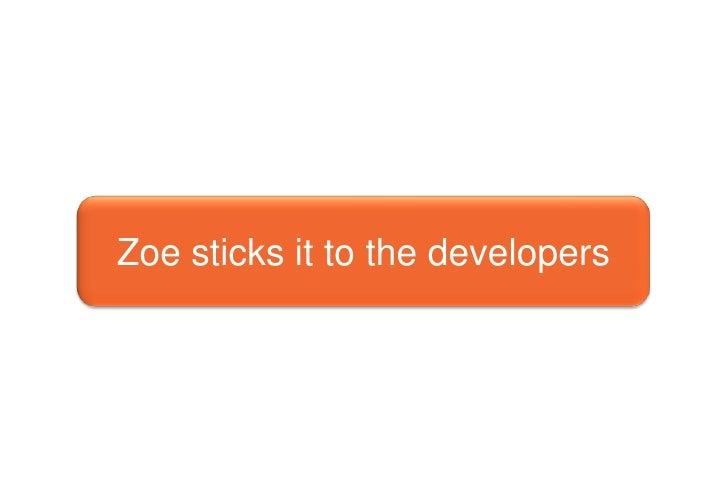 Zoe vs Gravesend Developers