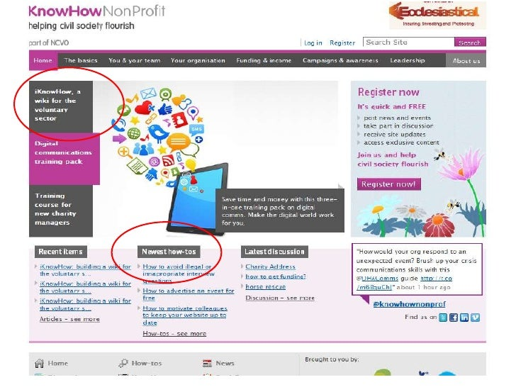 Content I love: KnowHow NonProfit