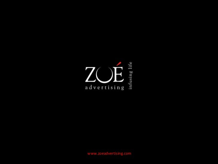 Zoe Advertising - glad to meet you !