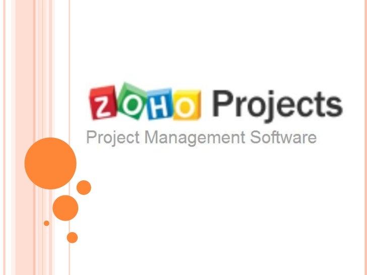 Zoho project presentation