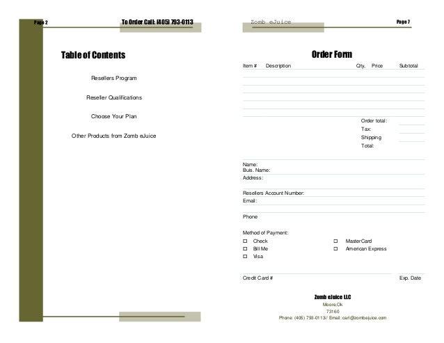 Reseller Program Details Subtotal Resellers Program
