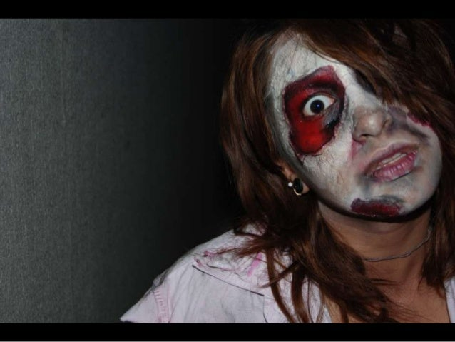Zombie photot shoot