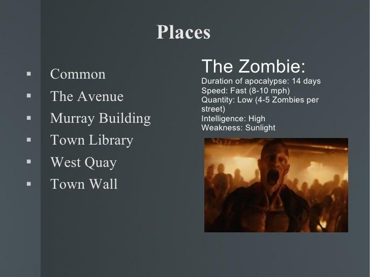 Places <ul><li>Common </li></ul><ul><li>The Avenue </li></ul><ul><li>Murray Building </li></ul><ul><li>Town Library </li><...