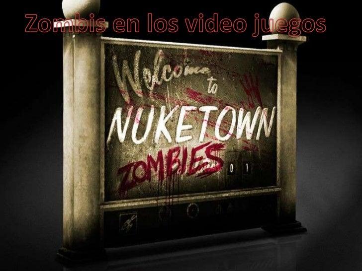 Zombies en los videojuegos