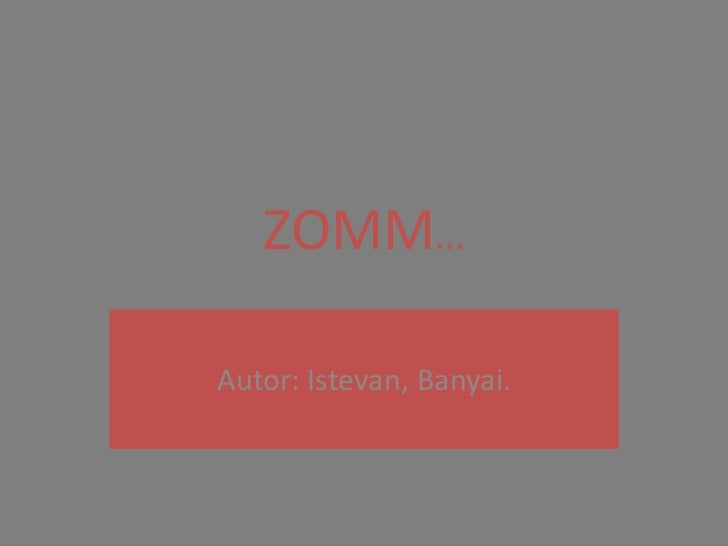Zomm.libro álbum