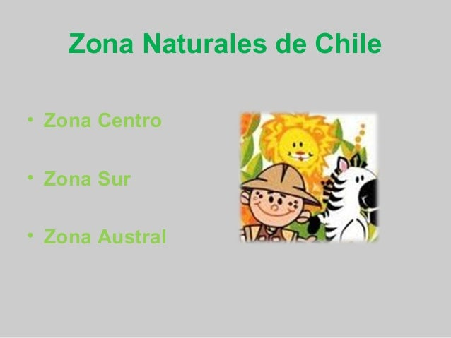 Decoracion Zona Norte De Chile ~ Zona central, sur y austral