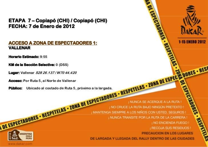 ETAPA 7 - Dakar 2012 - www.Youdakar.com