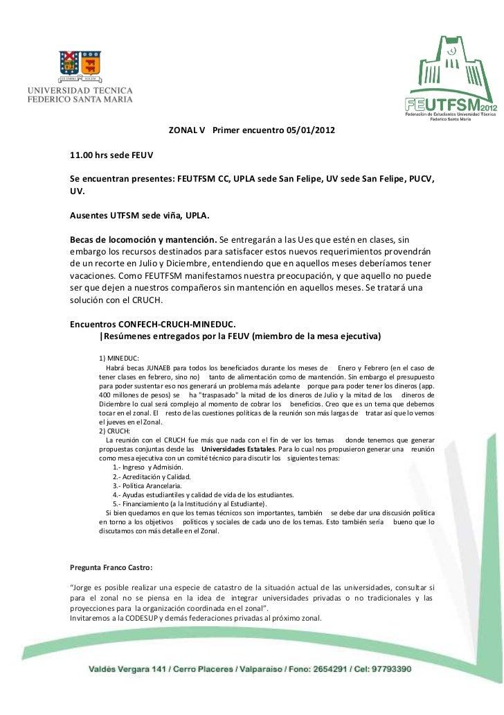 Zonal 05 01-2012