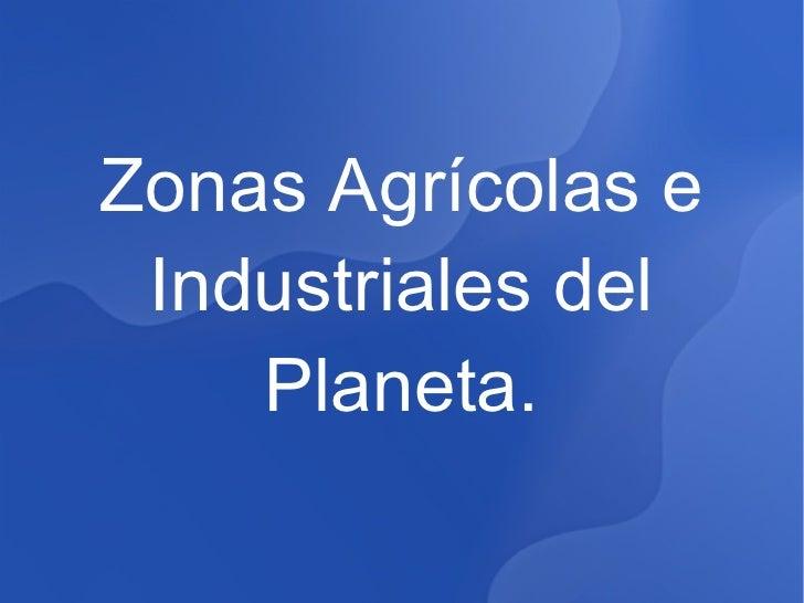 Zonasagricolas