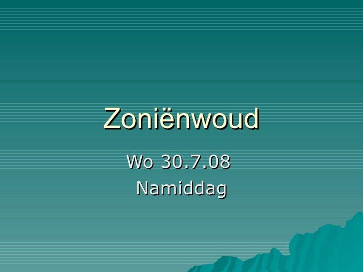 Zoniënwoud 2008 07 30