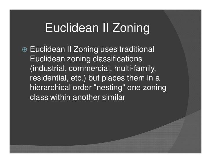 zoning essay