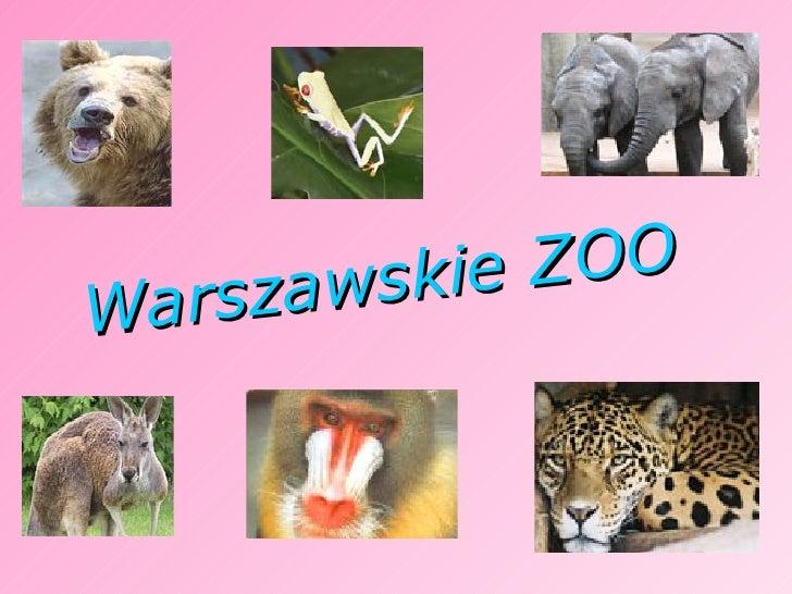 Znalezione obrazy dla zapytania warszawa zoo