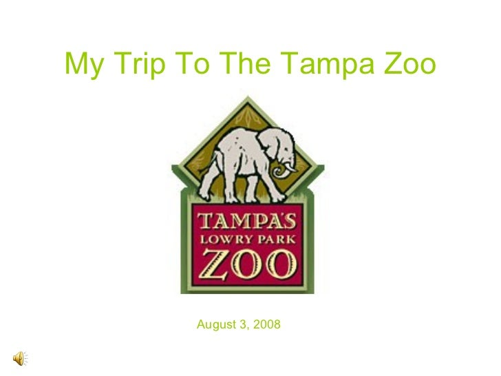 My Trip To The Tampa Zoo August 3, 2008