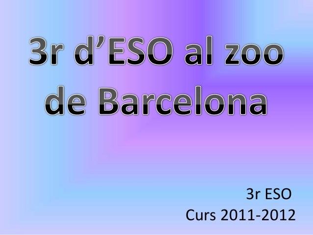3r ESOCurs 2011-2012