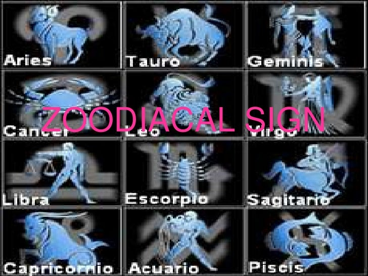 Zoodiacal sign
