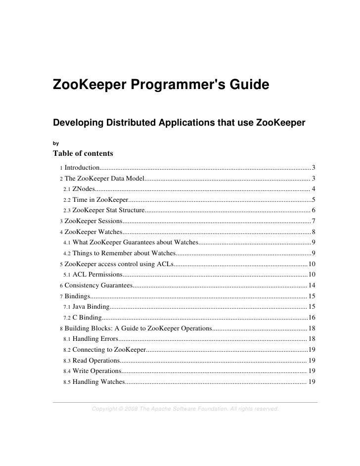 zookeeperProgrammers