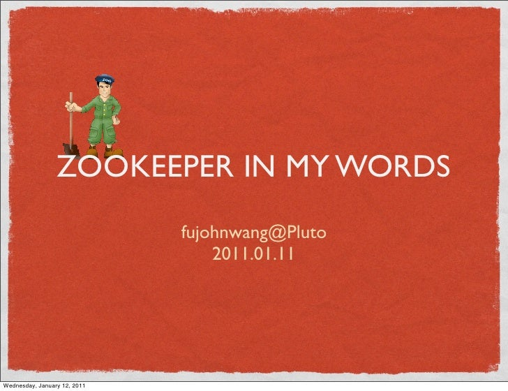 Zookeeper In Simple Words