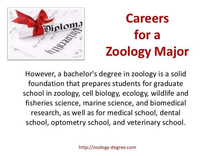Zoology major subjects in college