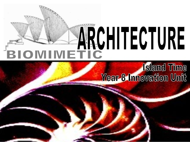 Learning objectives:• Understand the principles of Zoomorphism  and Biomimetics.• Be prepared to take risks when generatin...