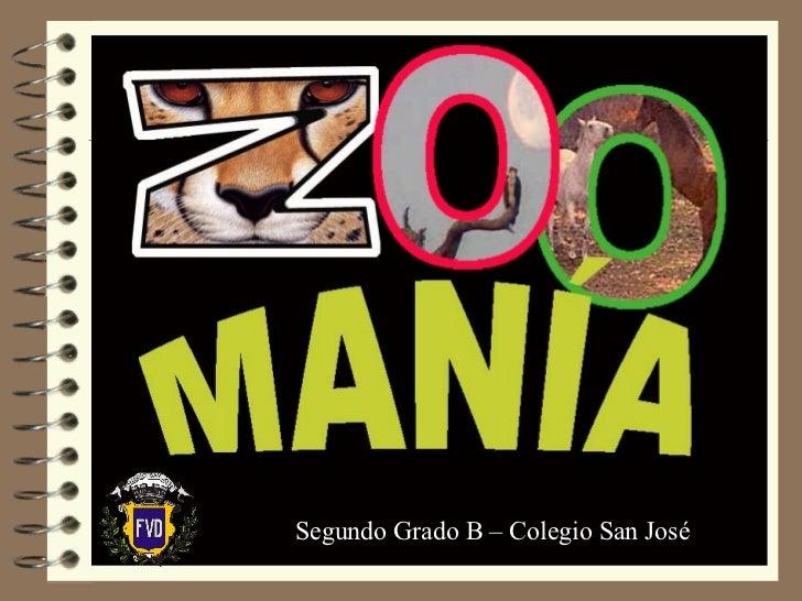 Segundo Grado B – Colegio San José