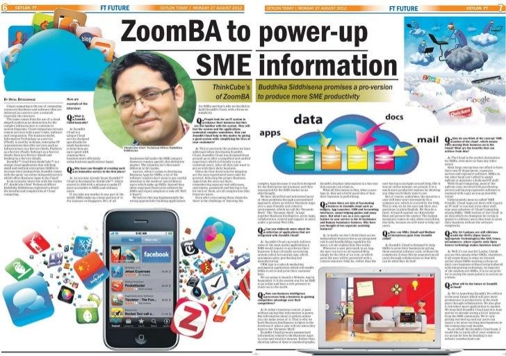 ZoomBA in Ceylon FT