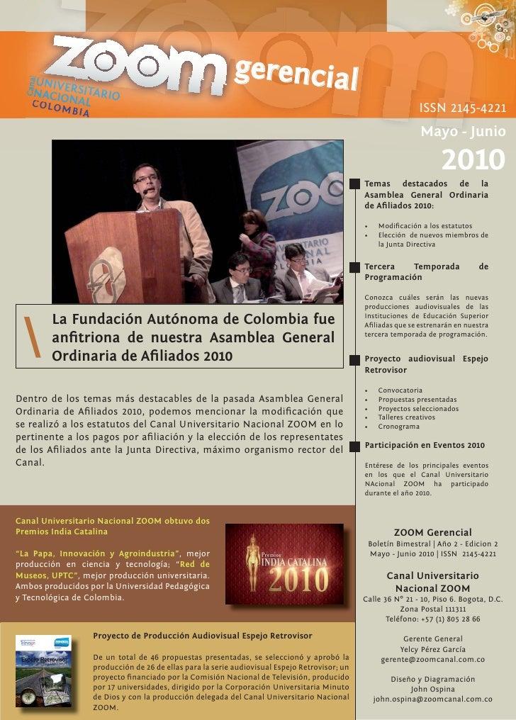 UNIVE                                                            gerencial   Canal         NACIO RSITARIO     C O L O NAL ...