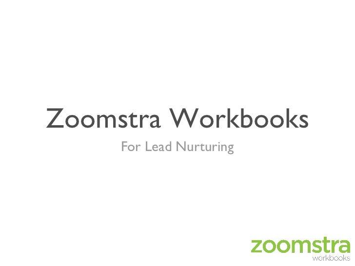 Zoomstra Workbooks     For Lead Nurturing