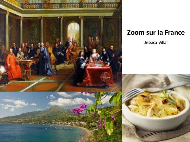 Zoom sur la France Jessica Villar