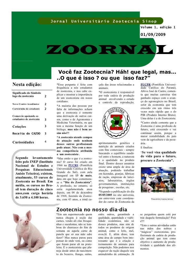Jornal Universitário Zootecnia Sinop                                                                                      ...