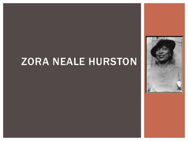 A Brief Zora Neale Hurston Biography