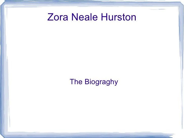 Zora slide show