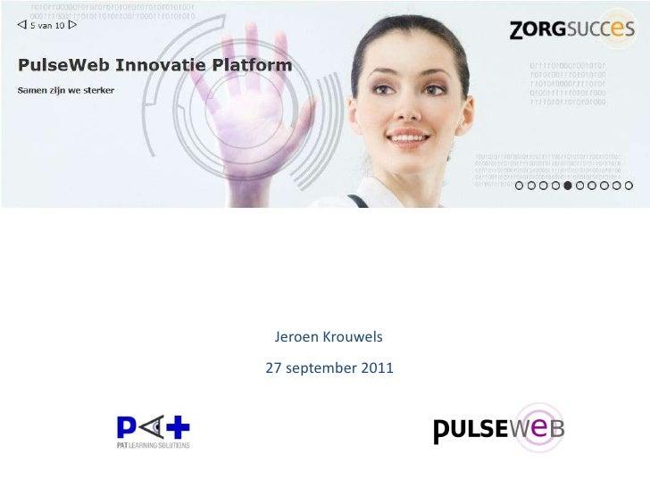 Jeroen Krouwels<br /> 27 september 2011<br />
