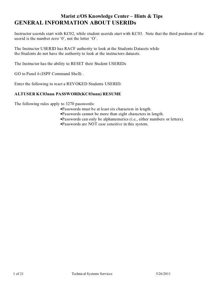 Zoskctr hints tips 20090723doc