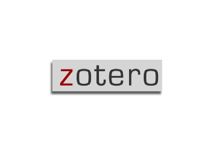 A Brief Overview of Zotero