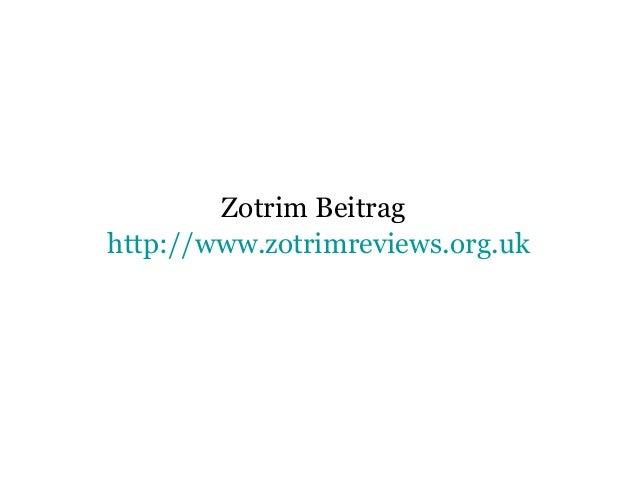 Zotrim Beitrag http://www.zotrimreviews.org.uk