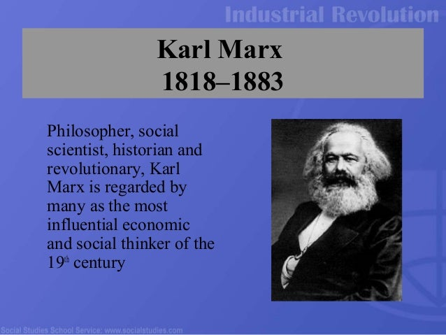 a biography of karl marx the greatest thinker and philosopher