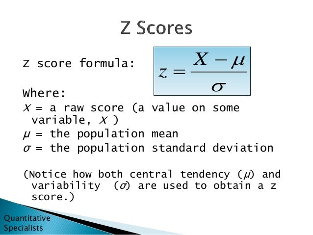 Best Excel Tutorial  How to Calculate zscore