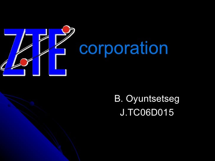 corporation B. Oyuntsetseg J.TC06D015