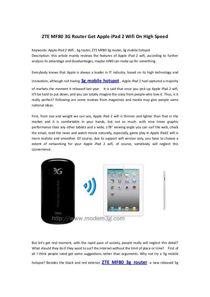 42MPS router-Newest ZTE MF80 mobile hotspot