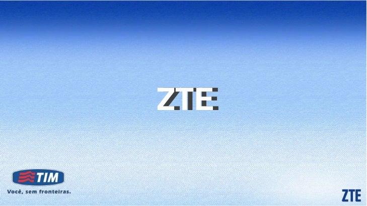 ZTE - Seminário Tablets & Smartphones 2011