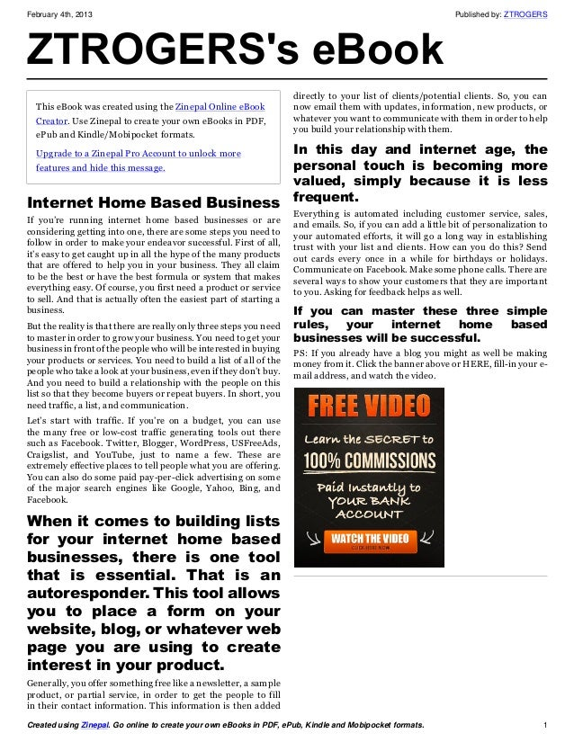 February 4th, 2013                                                                                            Published by...