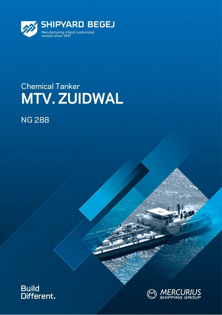 Chemical TankerMTV. ZUIDWALNG 288BuildDifferent.