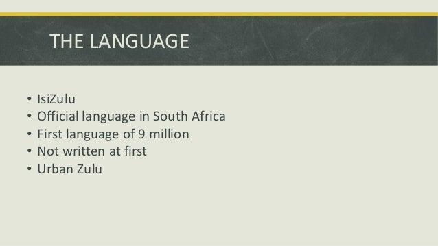 Essays in zulu language