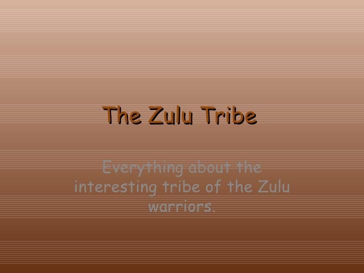 The Zulu Tribe  Everything about the interesting tribe of the Zulu warriors.