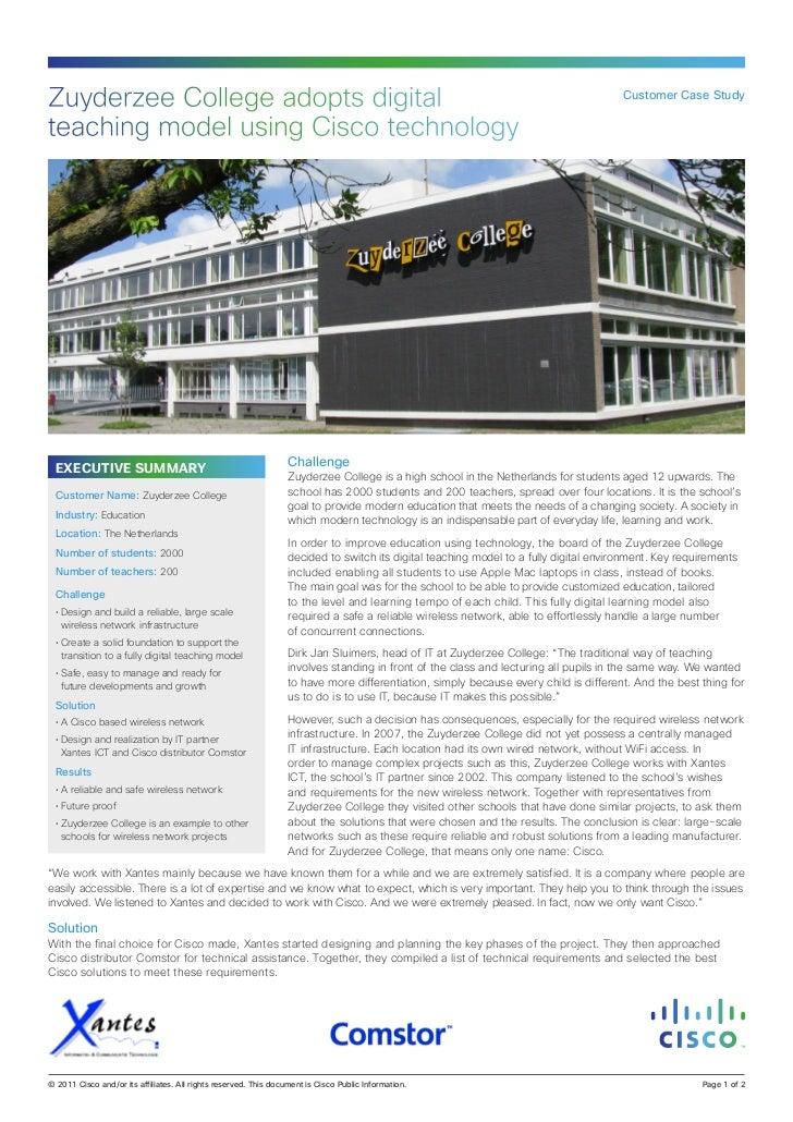 Zuyderzee College- Cisco