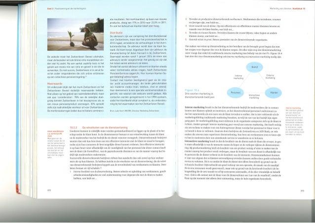 Zwitserleven case in Kotler's Principes van Marketing
