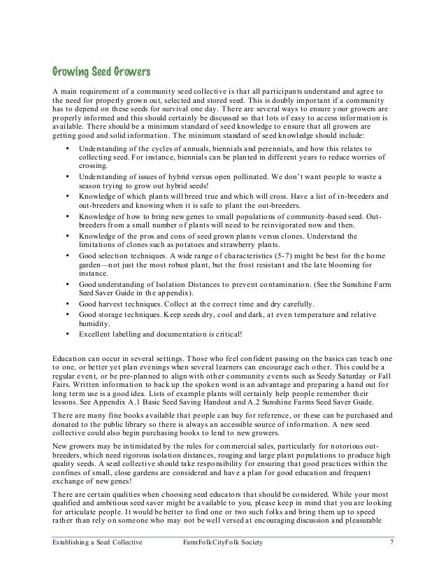 Grower Information Sheets a